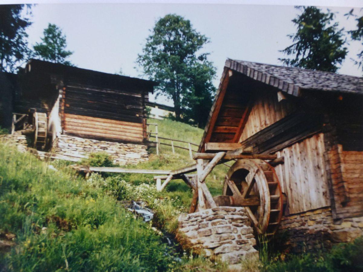 """Die """"Sieben Mühlen"""" in Pfarrwerfen"""