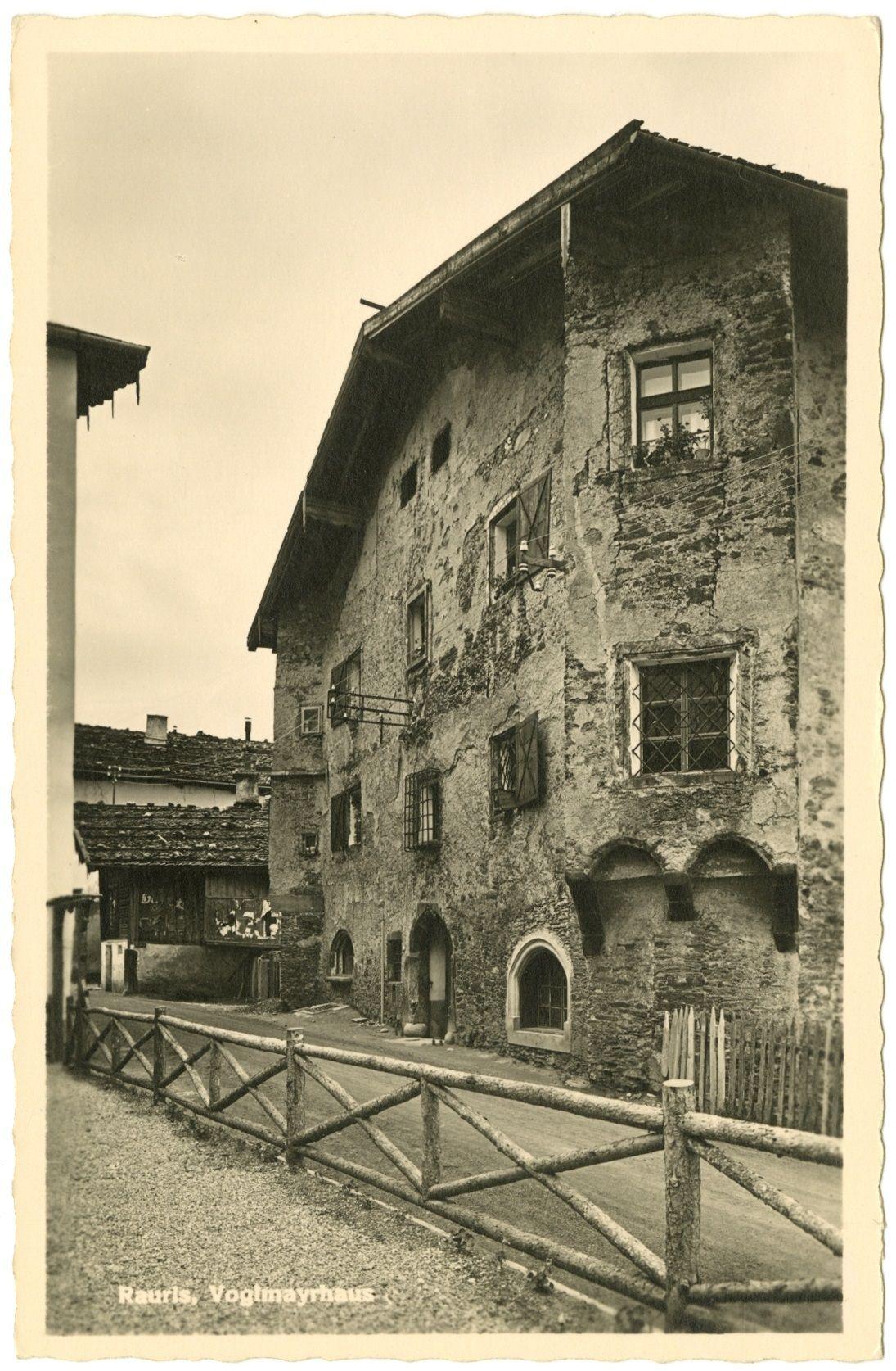 Das Voglmaierhaus in Rauris