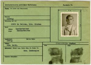 Zwangsarbeiterkartei © Salzburger Landesarchiv