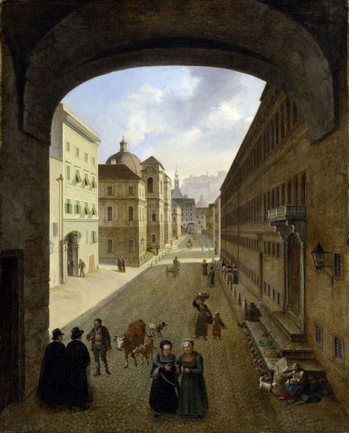 Salzburg im Biedermeier