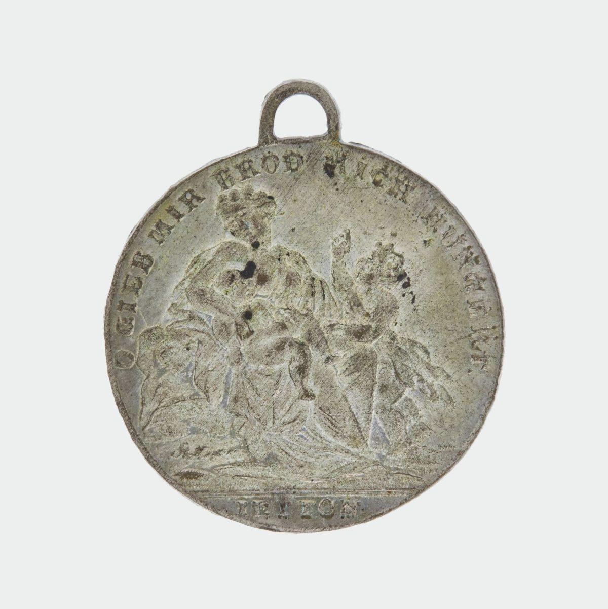 Jahr ohne Sommer 1816: Eine Hungermedaille