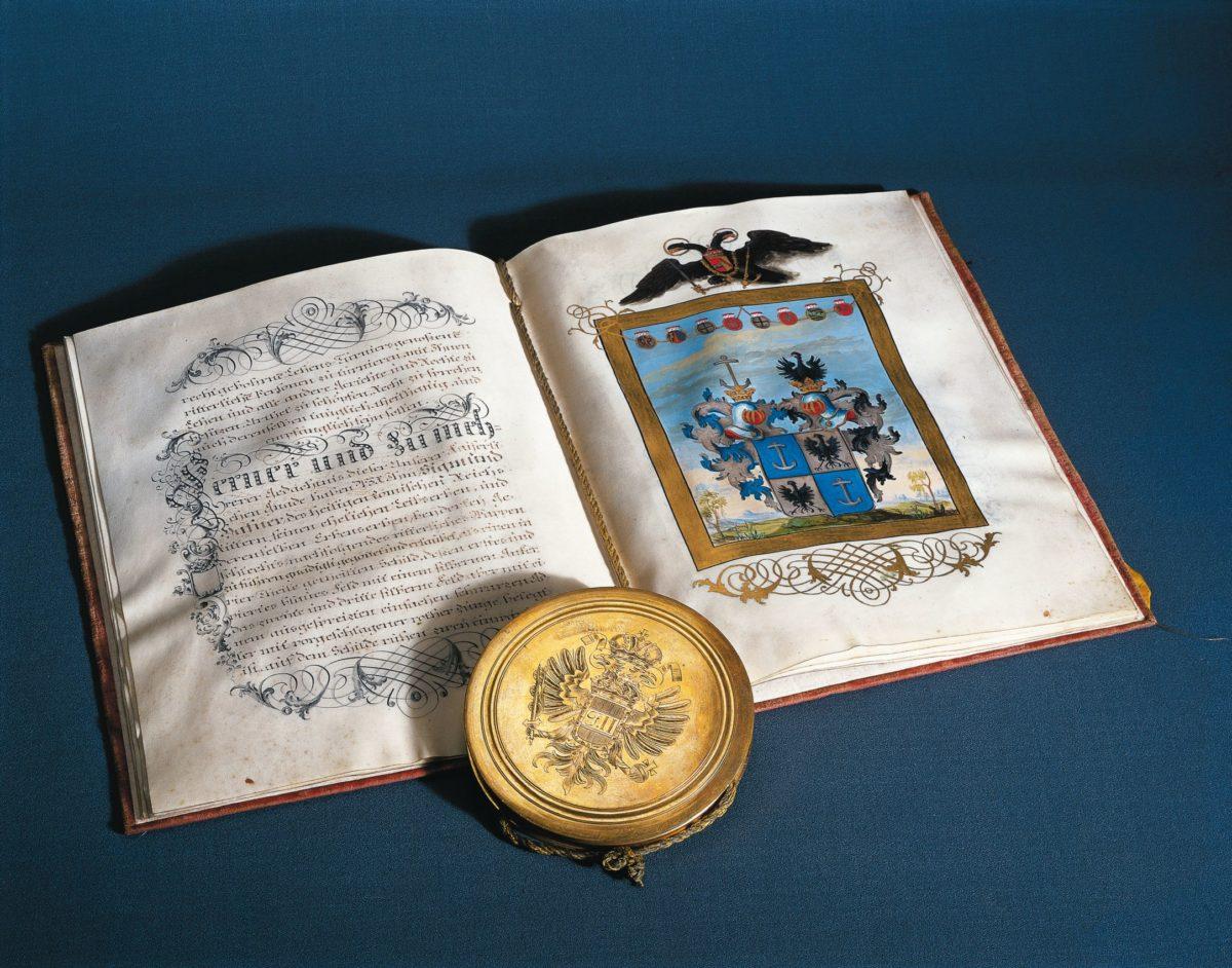 Adelsbrief für Sigmund Haffner (Hafner) d. J.