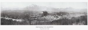 Panorama von Salzburg 1866 © Stadtarchiv Salzburg