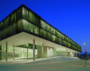 Unipark Nonntal/Ansicht von Norden/Abb. 1/Kaunat © SEP Architekten
