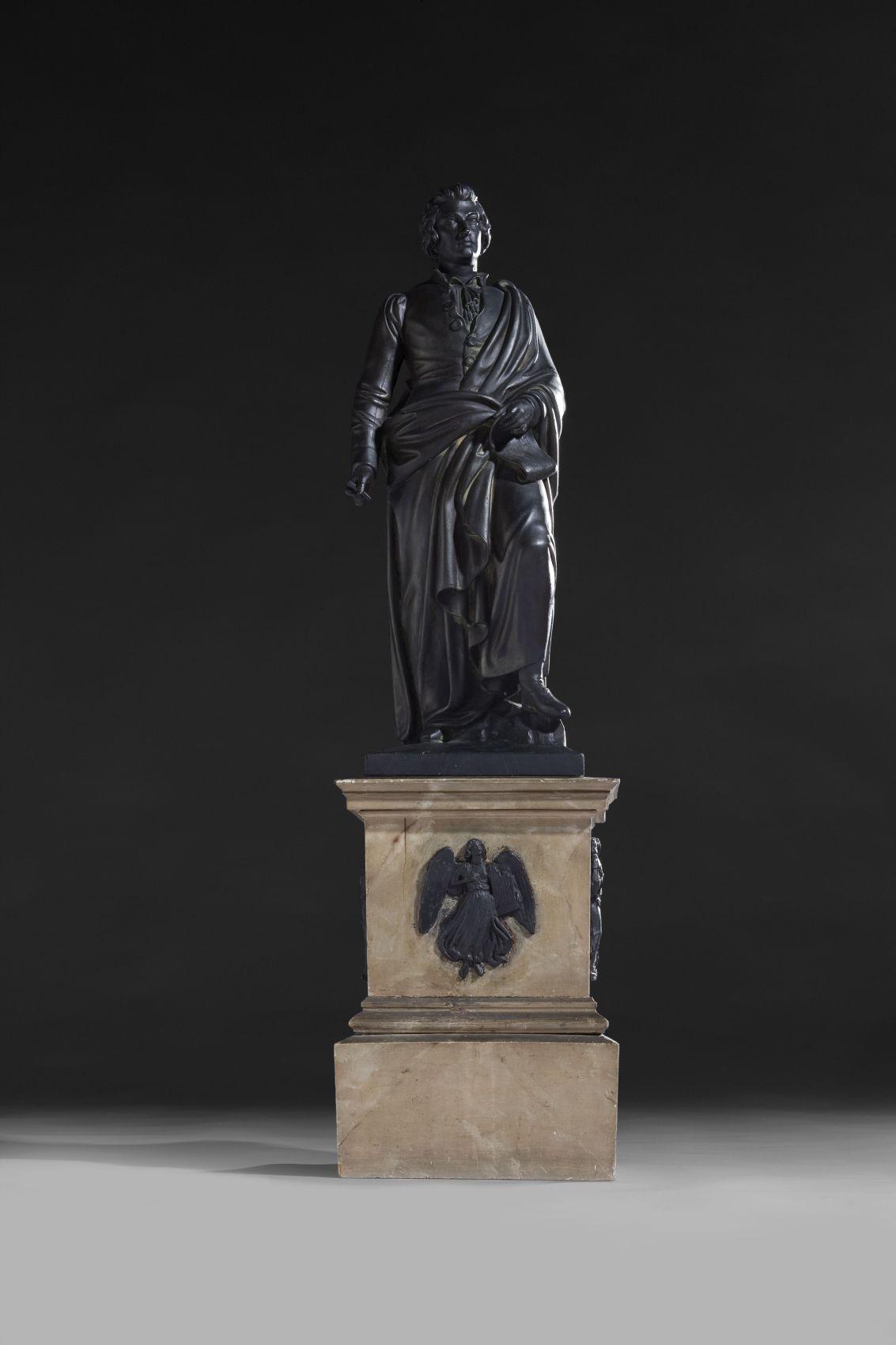 Eine Mozartstatue für Salzburg