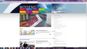 Screenshot des Wissensportal der Stadt Salzburg © Stadtarchiv Salzburg