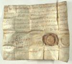 Schenkungsurkunde König Heinrichs II. über das Gut Admont im Ennstal © Archiv St. Peter