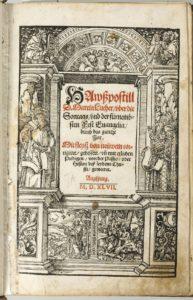 Luthers Hauspostille bei den Defereggern © Archiv der Erzdiözese Salzburg