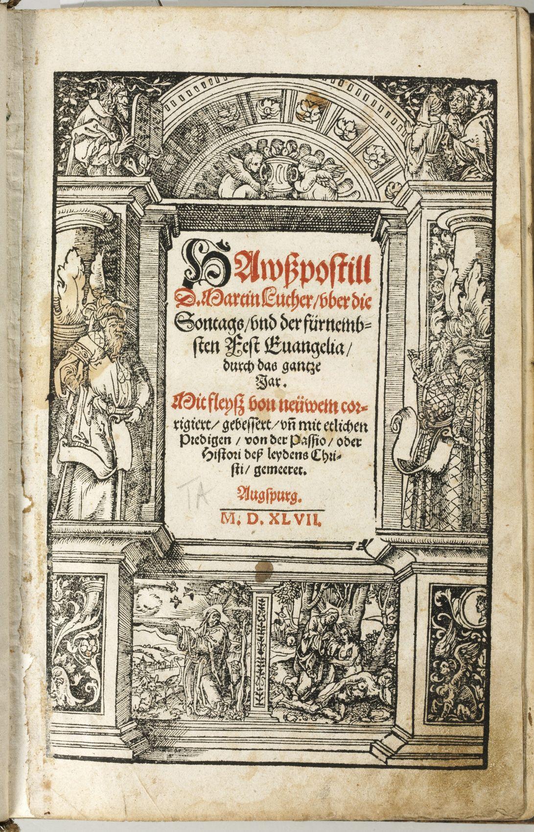 Luthers Hauspostille bei den Defereggern