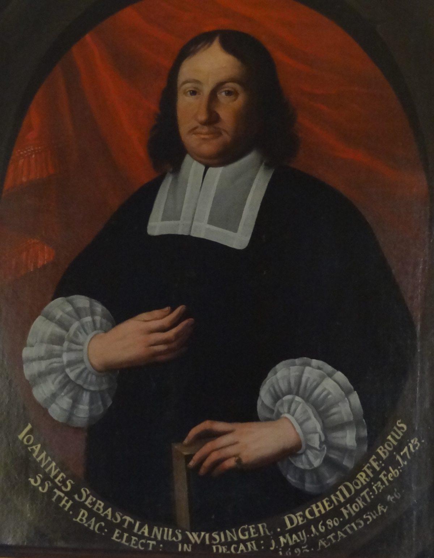 Dekan Johann Sebastian Wisinger aus Mattsee