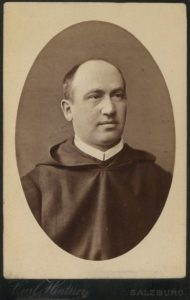 Porträtfotografie von Pater Gabriel Pacholik um 1872