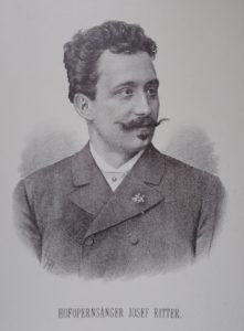 k.k. Hofopernsänger Josef Ritter