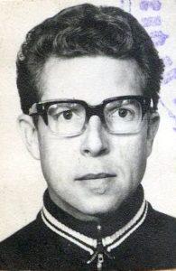 Der Mediziner und Alpinist Jurij Leonidowich Doroschewsky, vor 1979