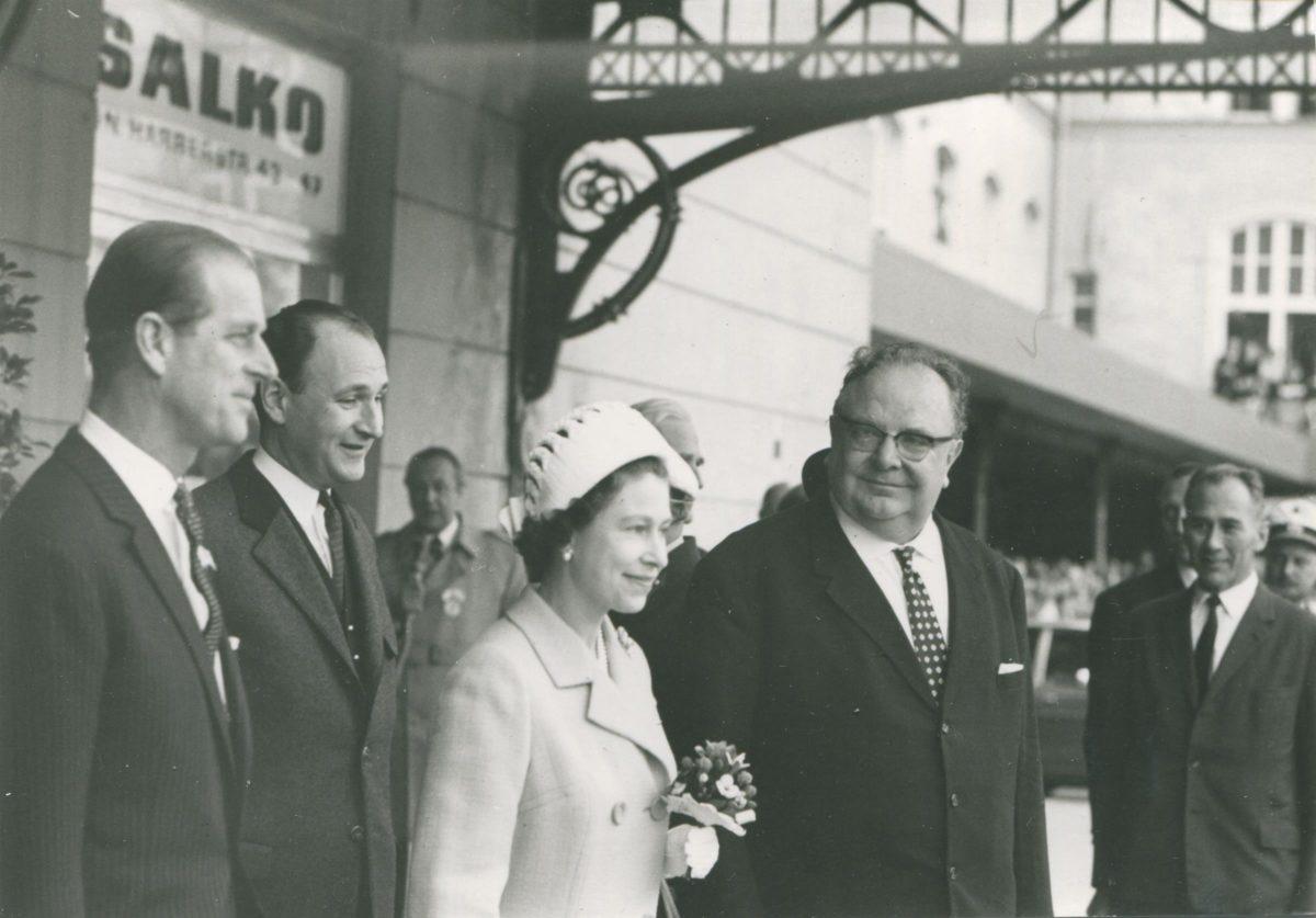 Erzähl mir ….. den Besuch der Königin: Queen Elizabeth II. zu Besuch in der Mozartstadt 1969